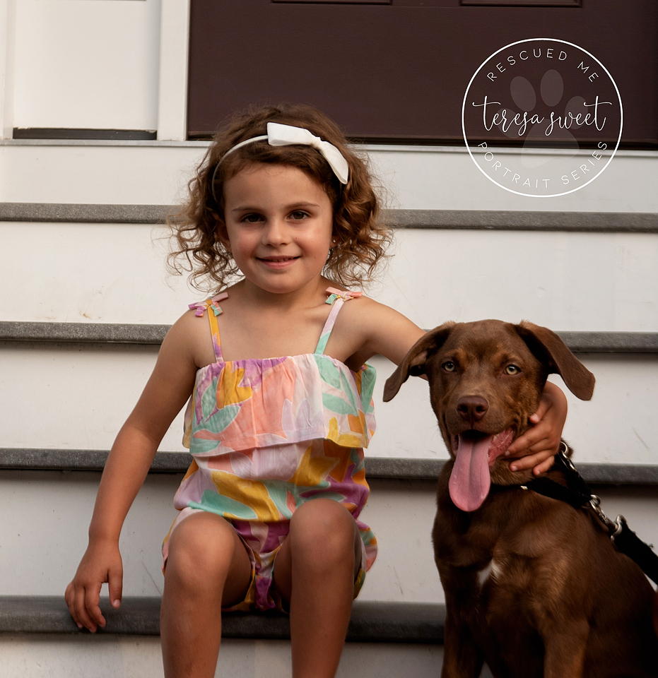 Child and Dog Photography